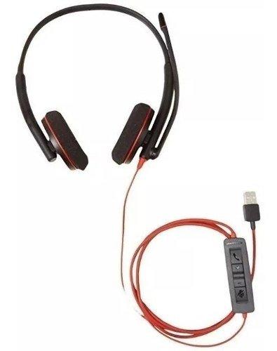 Audifono Y Mic De Diadema Plantronics Blackwire C3220 Alambr D Nq Np 855917 Mlm40768084106 022020 O