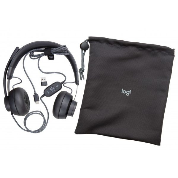 Logitech 981 000870 Zone Wired Teams Auriculares Diadema Negro