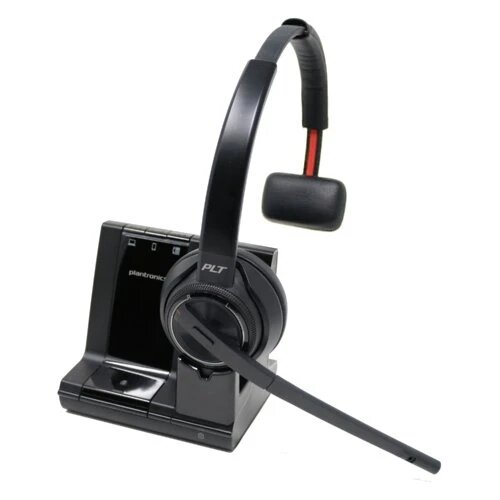Plantronics Savi 8210 Wireless Office Headset System For Desk Phone Mobile And Computer